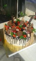 Торти та тіста на замовлення