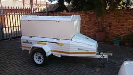 Campmaster Roadster 300 trailer, with 500mm extention