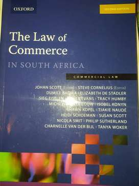 The Law of Commerce in South Africa 2nd edition