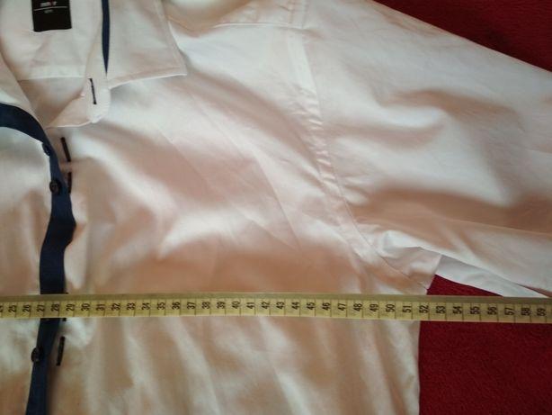 Koszula męska biała rozmar 39 Parczew - image 4