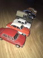 Samochody kolekcjonerskie zabawka dla dzieci + gazety PRL kolekcja