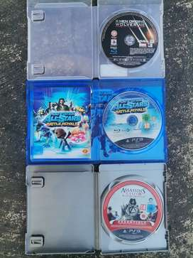 3 ps3 games for sale.