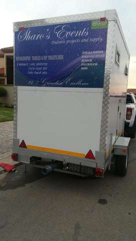Mobile vip toilets and Mobile Cooler