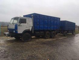 Продам КАМАЗ 5320 зерновоз с евро прицепом