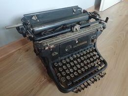 Maszyna do pisania Continental Wanderer-Werke polskie znaki antyk