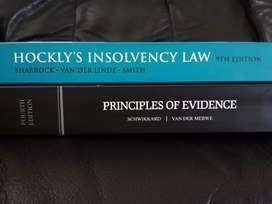 UNISA Law LLB textbooks