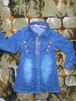 Koszula dziewczęca 116 cm jeans