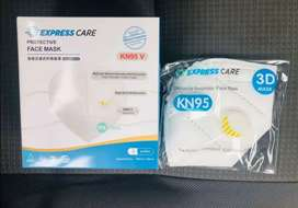 KN95 FACE MASKS WITH VALVE (5PLY)