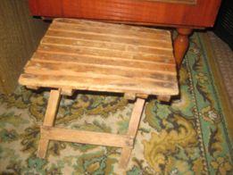 Деревянный маленький стульчик времен сср