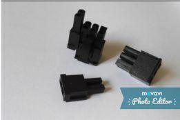 Коннекторы питания видеокарты PCI-E (майнинг, рейзер) 6-8 pin Mole