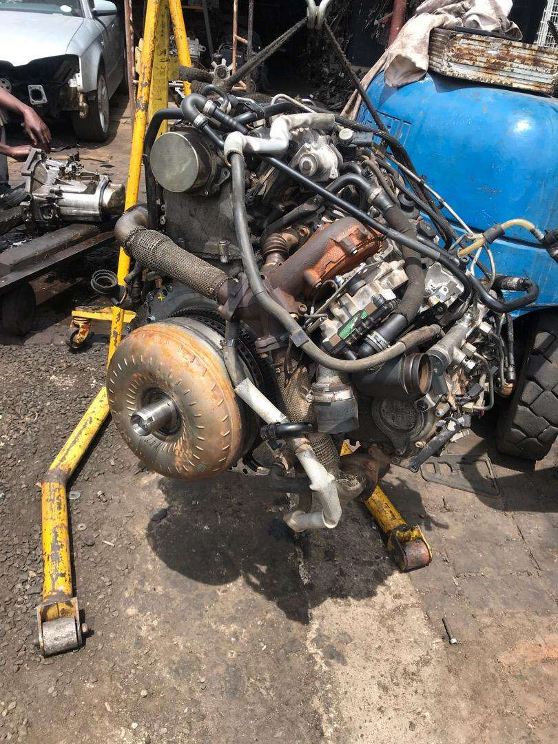 Audi q7 v6 tdi engine and gearbox for sell 0