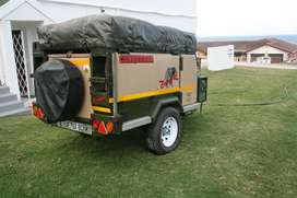 Conqueror Comfort off road trailer