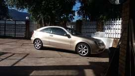 2003 Mercedes W203 Coupe body parts stripping as per lisy