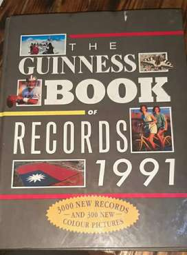 Guinness book of world records  1991 edition