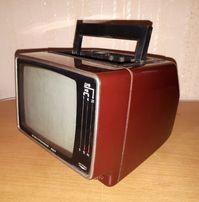 Переносной советский телевизор Электроника 407