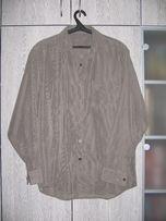 Рубашка темно-серая с отливом
