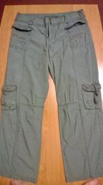 spodnie - Bojówki XL Bershka
