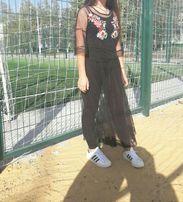 платье сетка вышивка как Zara