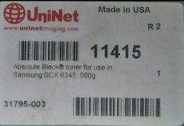 Тонер Samsung SCX 6345/6555/6545 UNINET 560 грамм USA