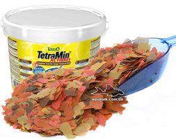 TetraMin XL - большие хлопья для всех видов рыб, 10 л/2,1 кг