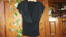 Piekna czarna bluzka