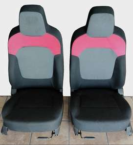 FRONT SPORTY TYPE SMALL CLOTH SEATS - From Renault Kwid Hatchback