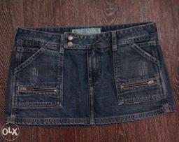Джинсовая юбка TRF 100% (Zara), р. EUR 38 (М)