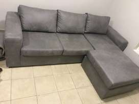 Giant L - shape couch