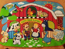Игровой музыкальный коврик Веселая ферма
