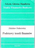 Z. Fedorowicz, Podstawy teorii finansów
