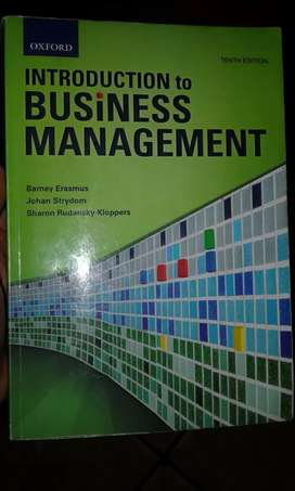 Introduction  to Business Management  10th edition