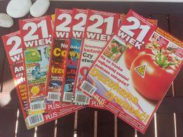 Magazyn 21.wiek nr 9 ,11 z 2011r, 8,9,10 z 2012r, 10 z 2013r.
