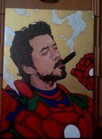 Продам картину, холст(нарисована акриловые краски)