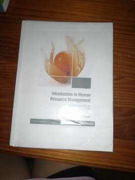 Introduction to Human Recouse Management.