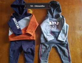 Baby boy clothing 6 - 24months