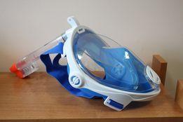 Maska do nurkowania z fajką 2w1 uchwyt na kamerę Aqua-Speed S/M