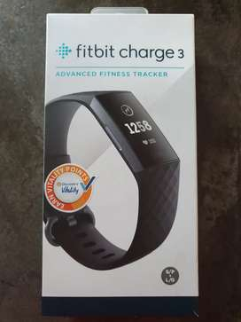 Fitbit Charge 3 Activity Tracker - Graphite Black