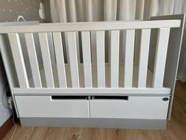 Cot and changing table combo