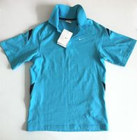 Новая оригинальная детская футболка поло NIKE Fit Dry