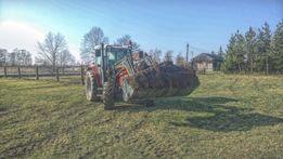 Usługi ciągnikiem (koszenie łąk nieużytków, transport, wiertnica itp.)