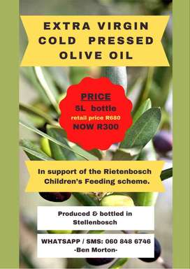 5L Olive Oil for Charity (Bargain Price)