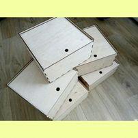 Коробочки, коробки из фанеры, дерева, упаковка, ящик