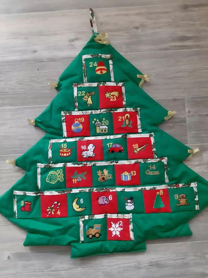 Adventní kalendář vánoční stromeček 0