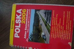 atlas samochodowy warszawy i polski