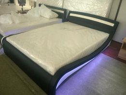 Łóżko tapicerowane 140 x 200 serii 100