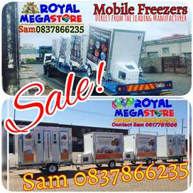 Sale Stretch Pole Frame Tents Mobile Freezers  Vip Chemical Toilets