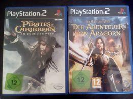 Игры для Sony Play Station 2 Пираты. звездные войны и др.