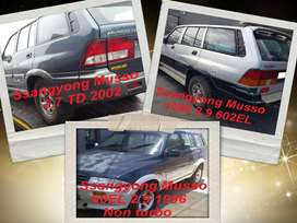 Ssangyong Musso spares for sale.