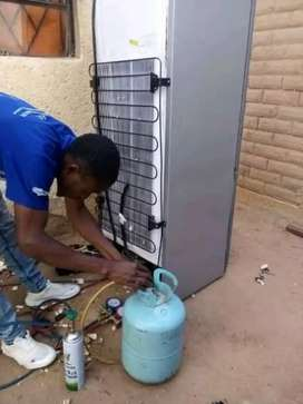 We fix any types of fridges and regasing on-site