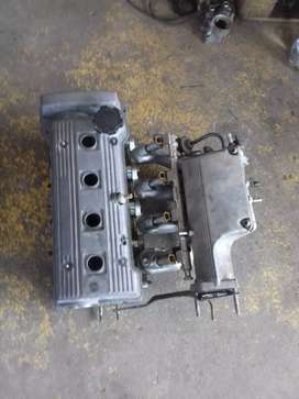 Toyota 4afe 160i cylinder head and dizzy